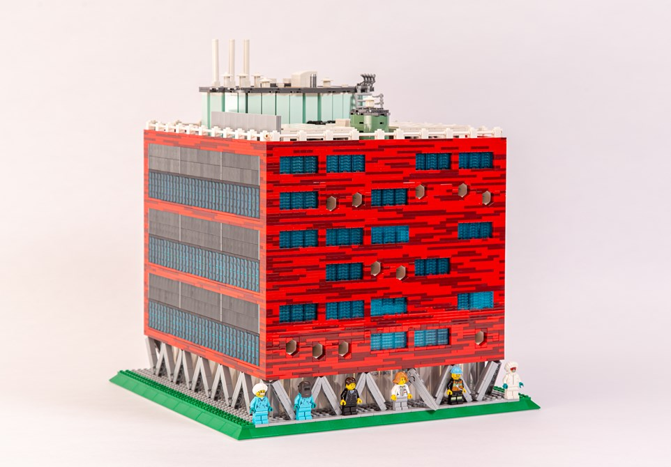 LEGO schaalmodel pand BioConnection
